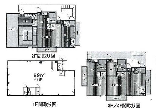 マンション(建物全部)-小平市仲町 間取り