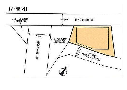店舗・事務所・その他-八王子市鑓水 区画図