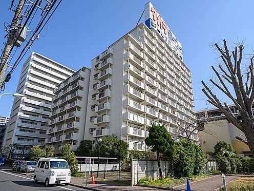中古マンション-品川区勝島1丁目 堂々としたマンション外観です。