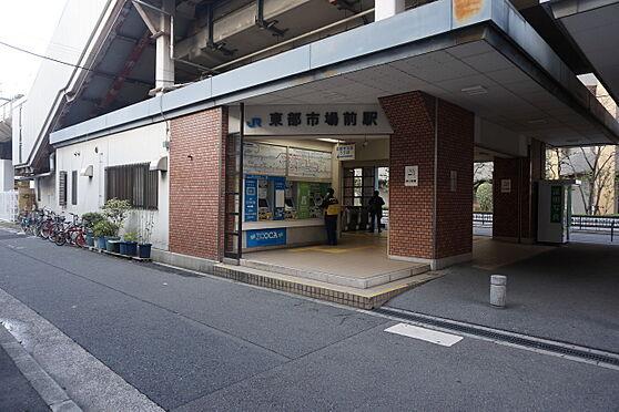 マンション(建物一部)-大阪市東住吉区今林4丁目 JR関西本線「東部市場前」駅 徒歩 約11分(約880m)