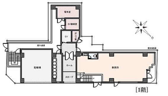 一棟マンション-江東区森下4丁目 ラレーブ森下(ウィスタリアヨシダ)1階平面図