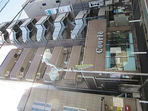 マンション(建物一部)-練馬区練馬1丁目 外観写真(マンション北側から撮影、1階はテナントは美容室です)