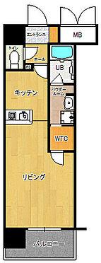 マンション(建物一部)-福岡市博多区美野島2丁目 1K・オーナーチェンジ物件