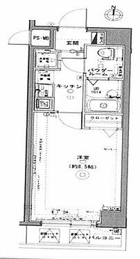 中古マンション-荒川区町屋6丁目 間取り