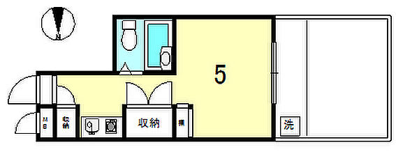 マンション(建物一部)-大田区中馬込2丁目 間取り