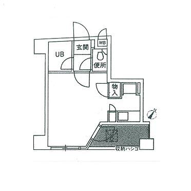 マンション(建物一部)-福岡市中央区春吉1丁目 間取り