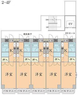 マンション(建物全部)-仙台市太白区柳生2丁目 2-4階 間取り図