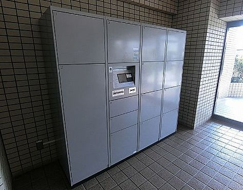 区分マンション-堺市東区日置荘田中町 宅配ボックス完備