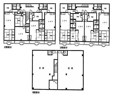 マンション(建物全部)-足立区加賀 間取り