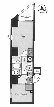 マンション(建物一部)-横浜市中区扇町2丁目 間取り
