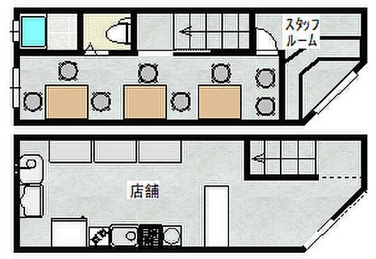 店舗事務所(建物全部)-大阪市西成区千本南1丁目 間取図