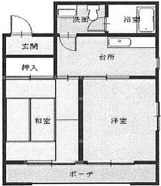 マンション(建物一部)-徳島市二軒屋町3丁目 間取り
