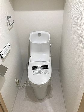 中古マンション-春日部市粕壁 トイレ