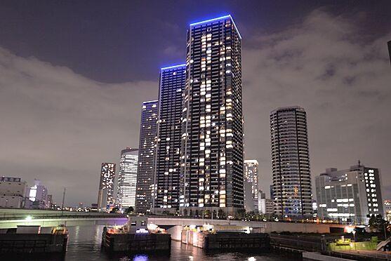 中古マンション-中央区晴海3丁目 52階建て・超高層免震ツインタワーマンション。住友不動産旧分譲。