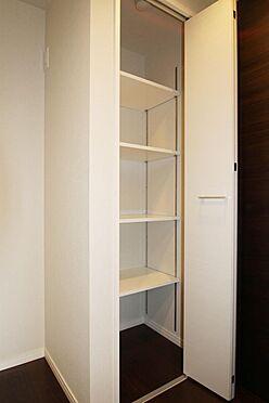 区分マンション-文京区白山2丁目 収納が各所に設けられています。