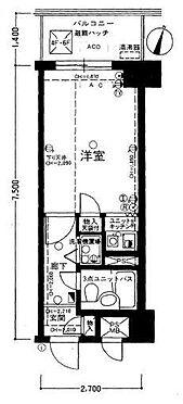 区分マンション-新宿区新宿5丁目 間取り