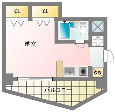 マンション(建物一部)-大阪市天王寺区大道3丁目 使い勝手の良い1R