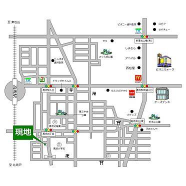 土地-東松山市大字高坂 地図