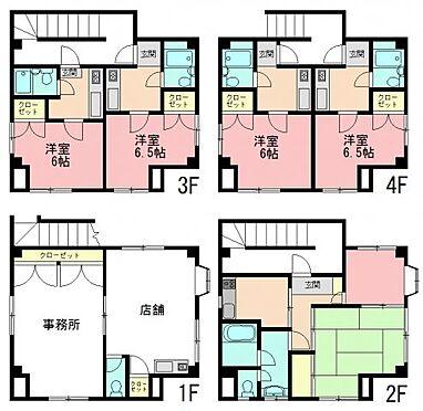 マンション(建物全部)-川崎市中原区上小田中3丁目 間取り