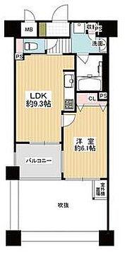 マンション(建物一部)-大阪市中央区農人橋2丁目 間取り