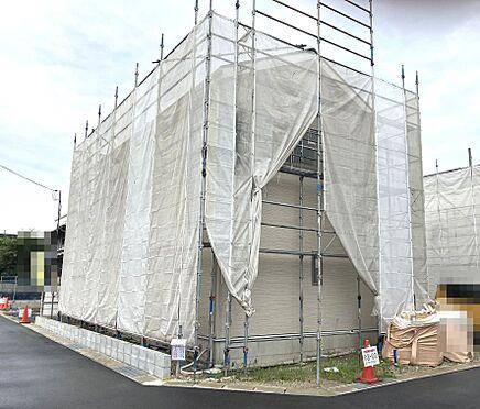 戸建賃貸-北葛城郡広陵町大字南郷 60.5坪、角地の区画。全室6帖以上の広さを確保した5LDKの大型住宅を建設致します。是非ご検討下さい!(2021年6月撮影)
