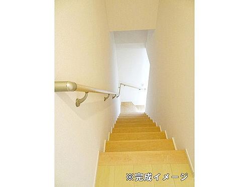 アパート-野々市市扇が丘 階段