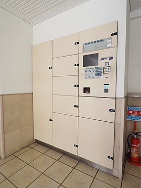 中古マンション-浦安市富士見5丁目 非対面の荷物受取ができる宅配ロッカー