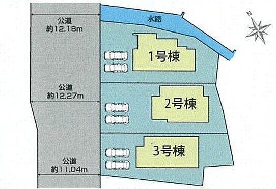 新築一戸建て-みよし市明知町一木 駐車並列2台可能です!