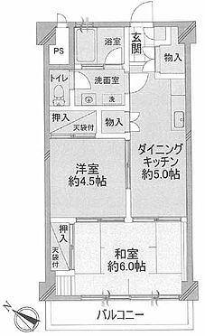 マンション(建物一部)-武蔵野市西久保3丁目 間取り