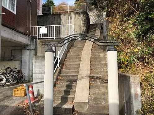 アパート-仙台市青葉区青葉町 階段