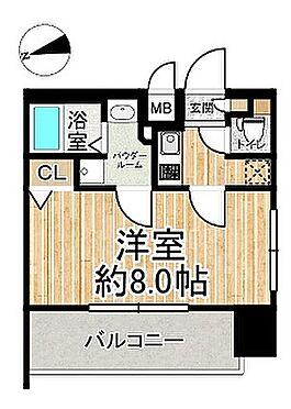 マンション(建物一部)-大阪市西区南堀江4丁目 間取り