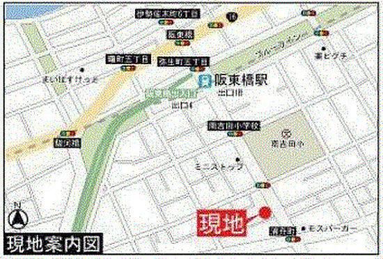 店舗事務所(建物一部)-横浜市南区白妙町3丁目 地図