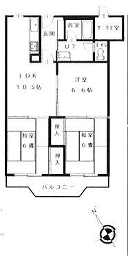 マンション(建物一部)-札幌市西区二十四軒二条5丁目 間取り