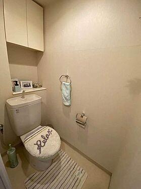 中古マンション-名古屋市緑区有松町大字桶狭間字生山 トイレには快適な温水洗浄便座付き!