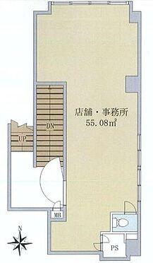 店舗・事務所・その他-江東区亀戸2丁目 間取り