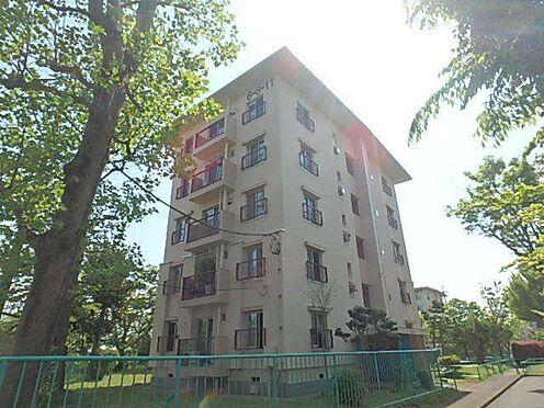 中古公団-町田市鶴川6丁目 大規模修繕で外壁塗装済み