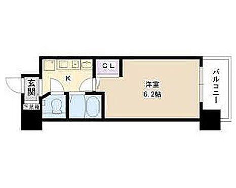 マンション(建物一部)-大阪市天王寺区逢阪2丁目 間取り