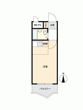 マンション(建物一部)-武蔵野市境1丁目 間取り