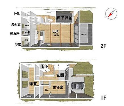 中古一戸建て-名古屋市中川区野田2丁目 モデルハウスとしても使用されているおしゃれな物件です!