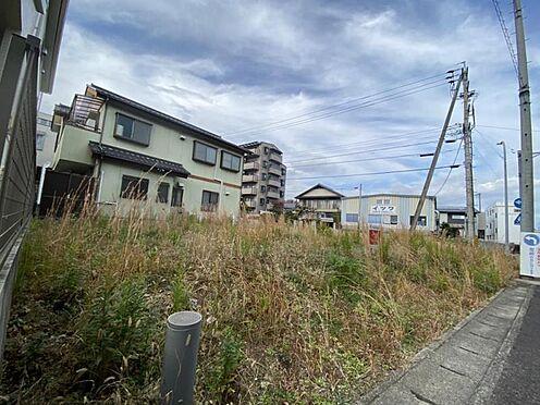 土地-豊田市平芝町2丁目 前面東側からは朝日が毎日お出迎えしてくれます。