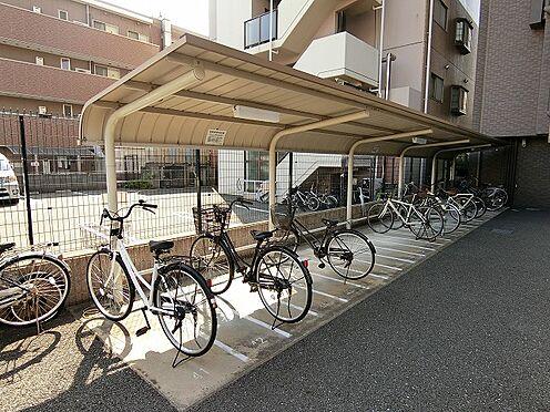 マンション(建物一部)-大阪市東淀川区大道南1丁目 屋根付きの駐輪スペースあり