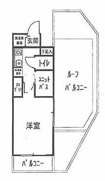 中古マンション-横浜市神奈川区松見町1丁目 間取り