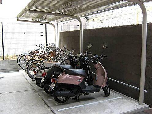 マンション(建物一部)-京都市下京区西七条南東野町 便利なバイク置場あり