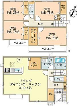 新築一戸建て-八王子市南大沢2丁目 4号棟4,380万円