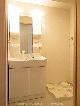 アパート-荒尾市増永 101号室洗面台
