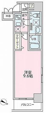 中古マンション-横浜市西区桜木町6丁目 間取り