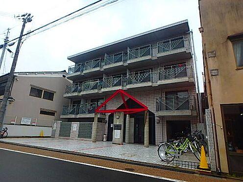 マンション(建物一部)-京都市東山区本町17丁目 タイル貼りでキレイな外観です。