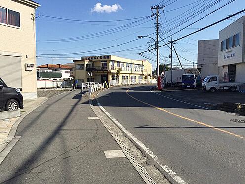 建物全部その他-厚木市温水 前面道路