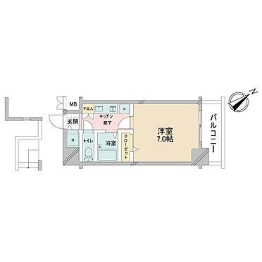 マンション(建物一部)-文京区本駒込4丁目 間取り