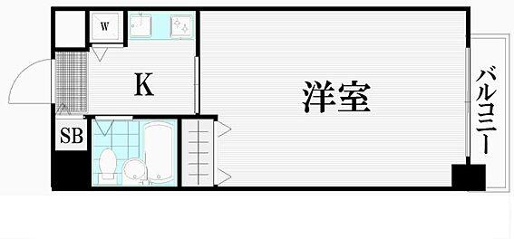 マンション(建物一部)-大田区東糀谷4丁目 間取り